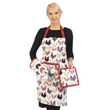 Apron, Oven Mitt & Pot Holder