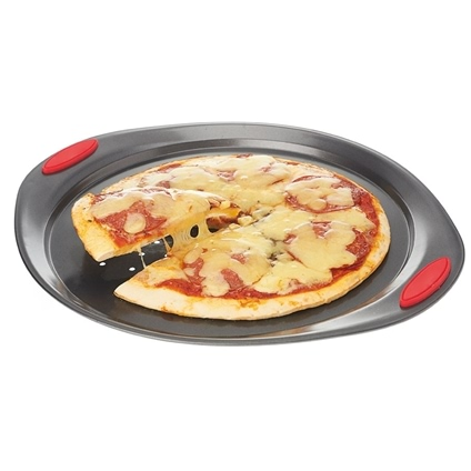 Non-stick Pizza Pan with Grips